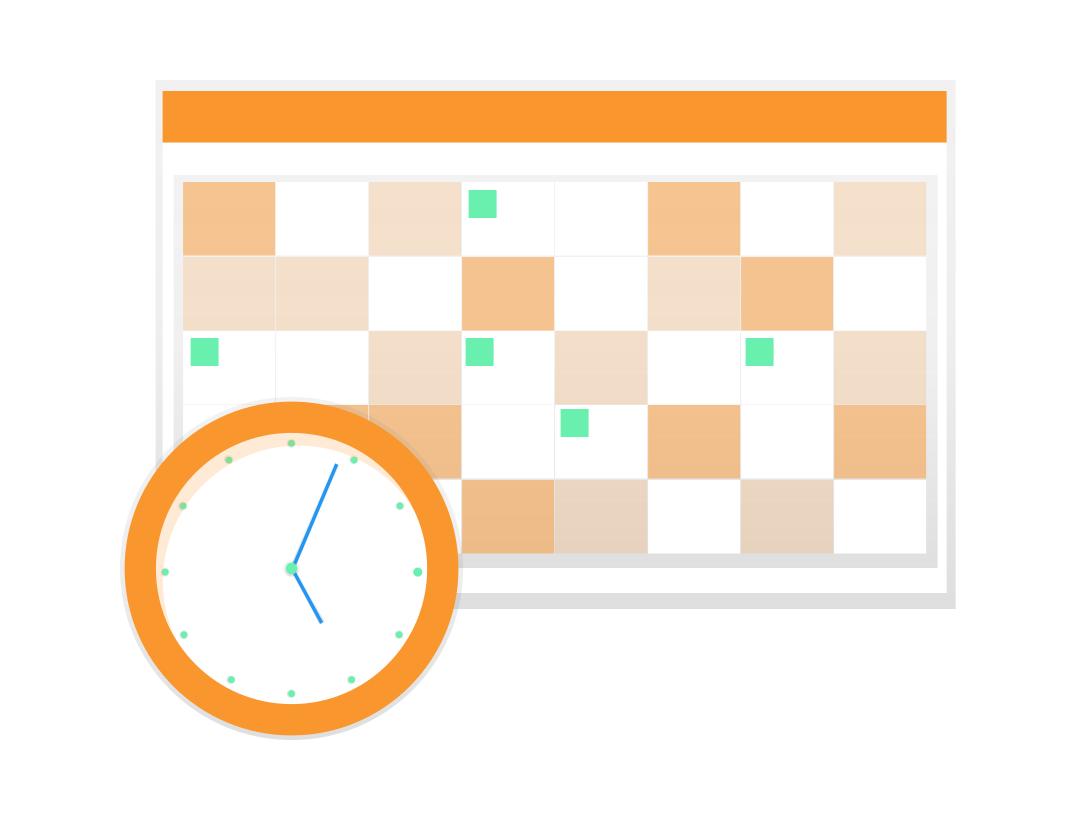 undraw calendar dutt